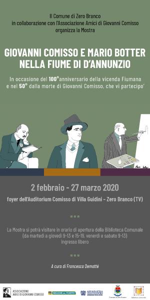 """Mostra - Guiovanni Comisso e Mario Botter"""""""