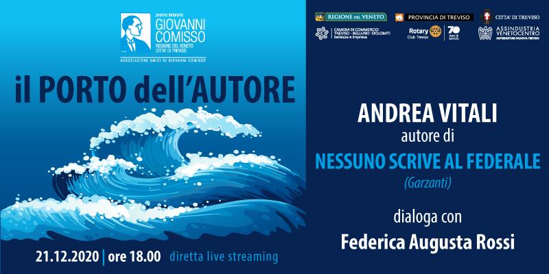 Il Porto dell'Autore: Andrea Vitali in dialogo con Federica Augusta Rossi