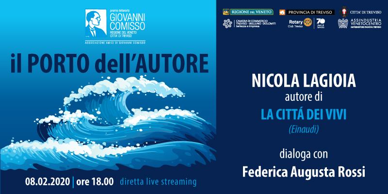 Il Porto dell'Autore: Nicola Lagioia in dialogo con Federica Augusta Rossi