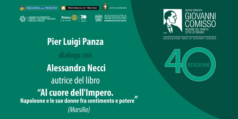 Premio Comisso 2021. Incontro con i Finalisti: Pier Luigi Panza dialoga con Alessandra Necci