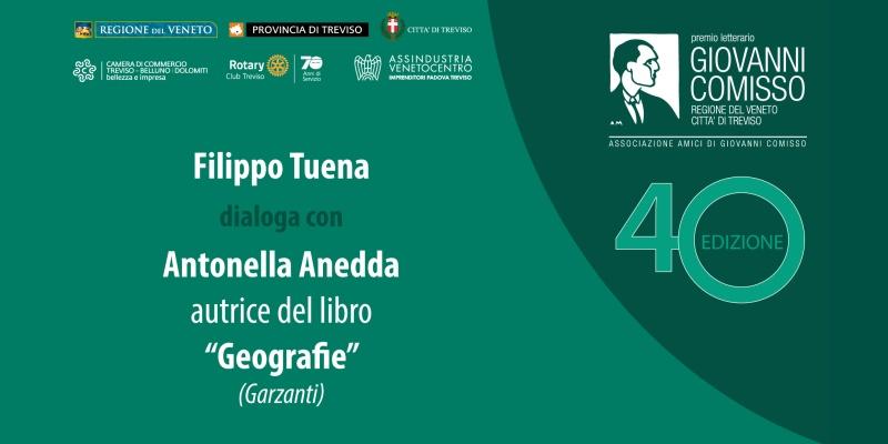 Premio Comisso 2021. Incontro con i Finalisti: Filippo Tuena dialoga con Antonella Anedda
