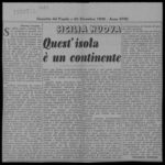 """Giovanni Comisso - """"Quest'isola è un continente"""""""