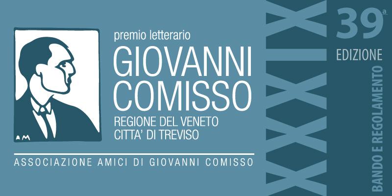 Premio letterario Giovanni Comisso 2020 - Bando e Regolamento