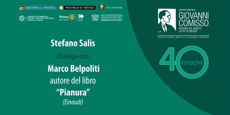 Premio Comisso 2021. Incontro con i Finalisti: Stefano Salis dialoga con Marco Belpoliti