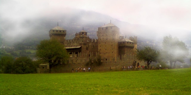 Giovanni Comisso - Castelli e fantasie in Val d'Aosta