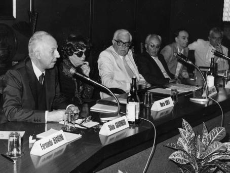 Silvio Guarnieri, Maria Corti, Giancarlo Vigorelli, Piero Chiara, Andrea Zanzotto, Nico Naldini