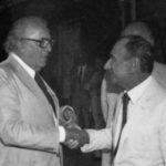 Federico Fellini e Goffredo Parise