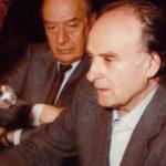Bruno VIsentini e Andrea Zanzotto
