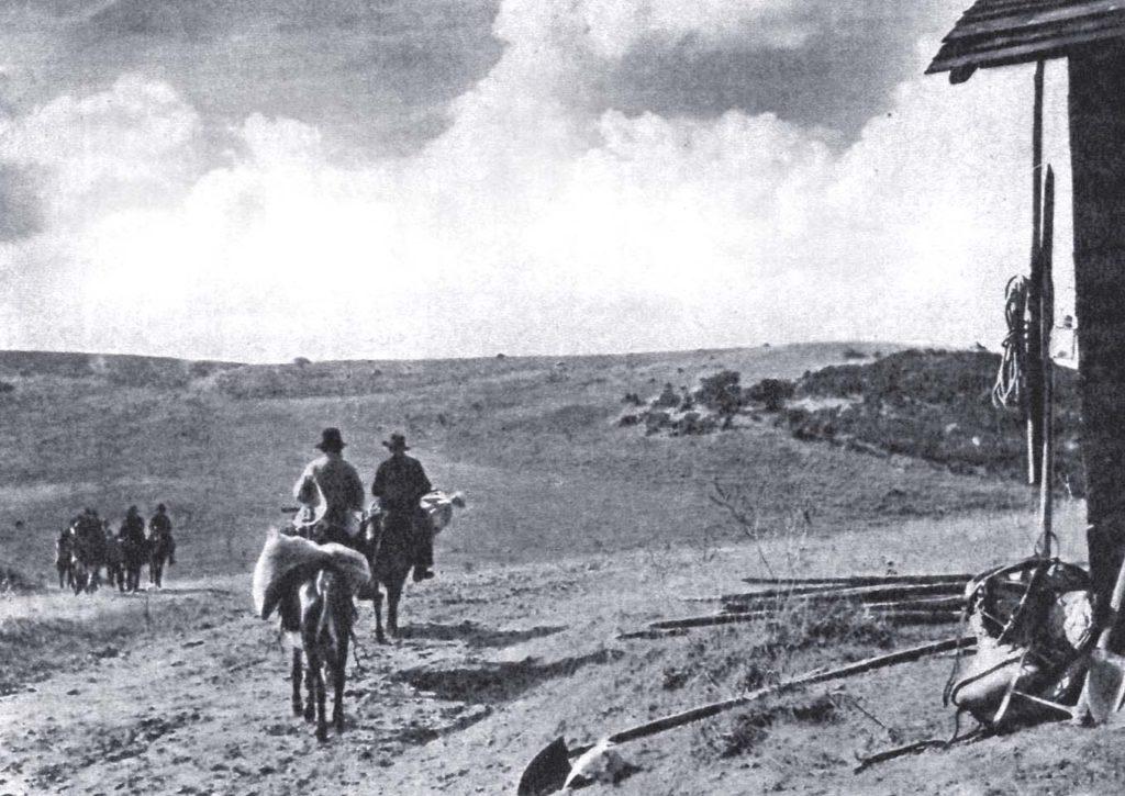Foto di scena del film Terra di nessuno (Baffico, 1939)