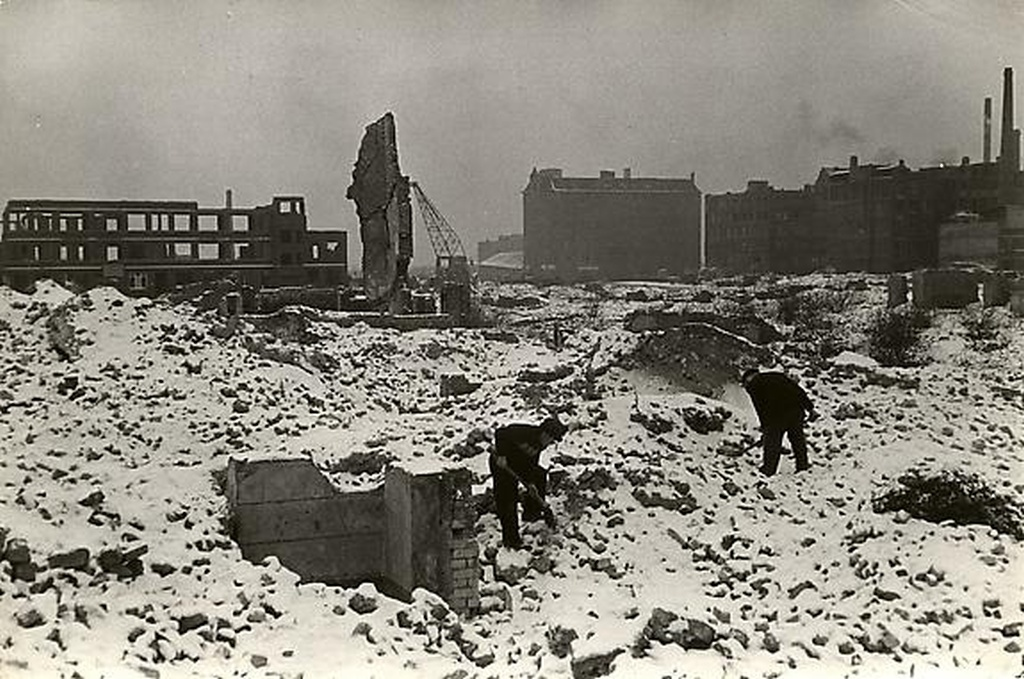 Hamburg, reconstruction, 1953