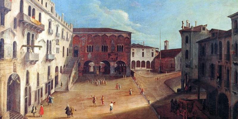 Medoro Coghetto, XVIII secolo, olio su tela 90x60, Museo Luigi Bailo Treviso