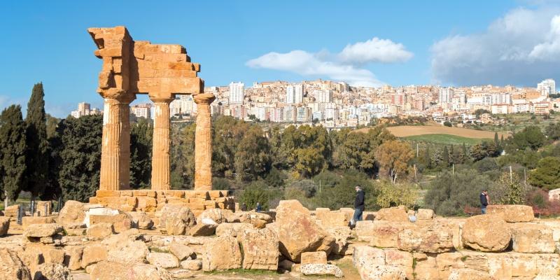 Templi e vestigia greche: Agrigento