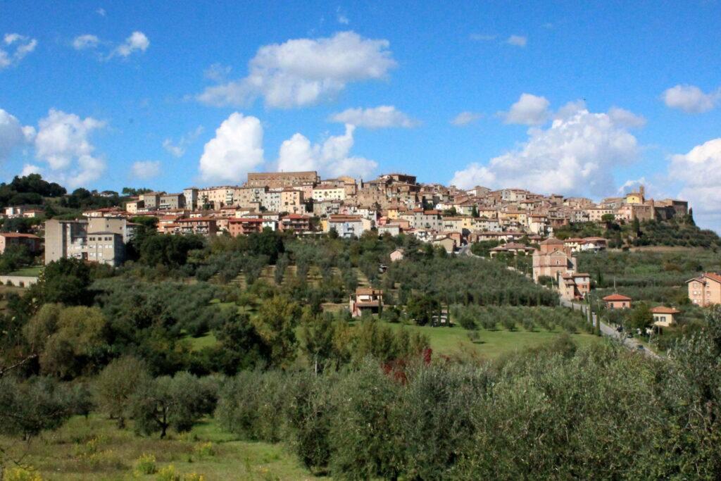 Panorama di Chianciano Terme (Wikipedia)