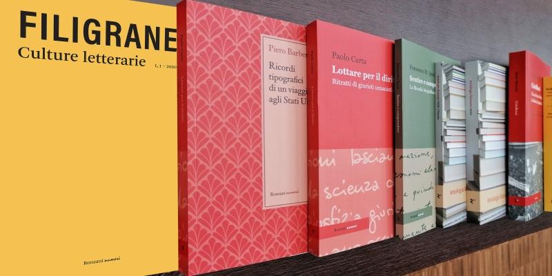 """Coraggio in """"filigrana"""": la sfida della nuova rivista di Ronzani Editore"""