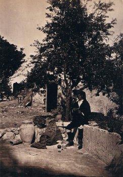 Wilhelm von Gloeden (1856–1931), Scena rurale a Lìmina_Wikipedia