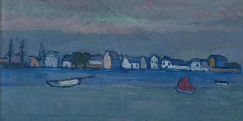 Gino Rossi, il pittore blu oltremare che matto non fu mai