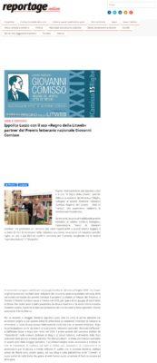 Ippolita Luzzo con il suo «Regno della Litweb» partner del Premio letterario nazionale Giovanni Comisso (Reportage Online, 27/02/2020)