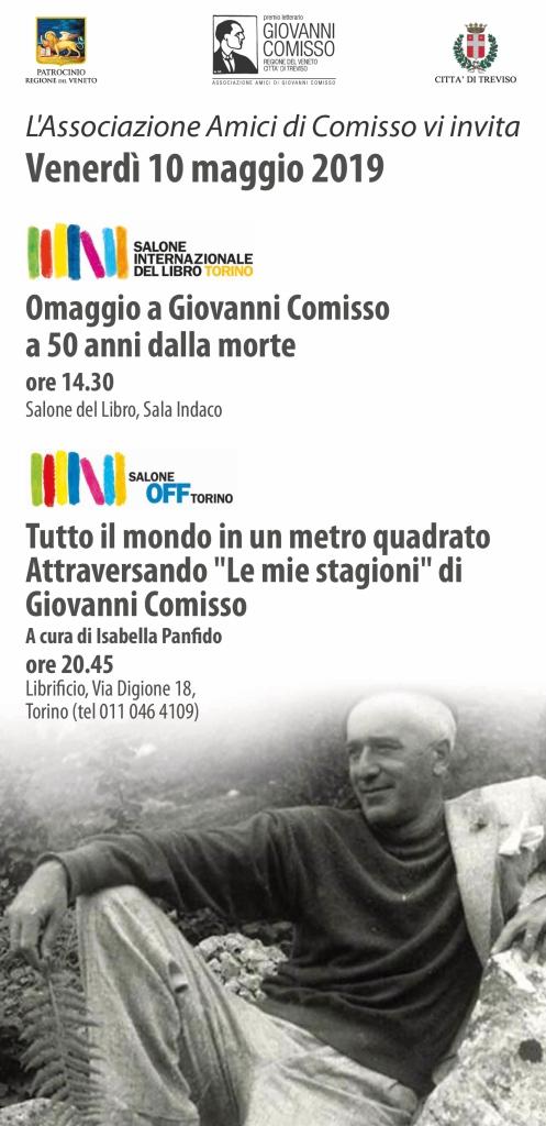 Il Premio Giovanni Comisso al Salone del Libro di Torino 2019