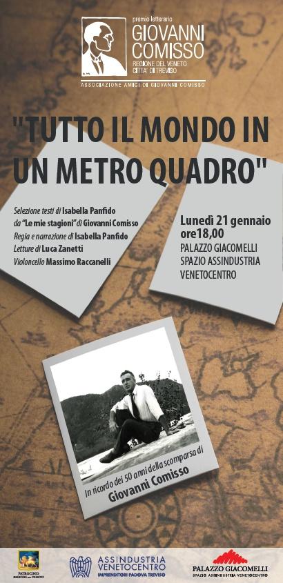 Tutto il mondo in un metro quadro - Lettura scenica a cura di Isabella Panfido